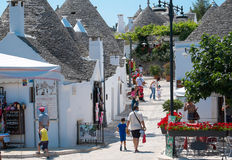 The Trulli of Alberobello Royalty Free Stock Photography