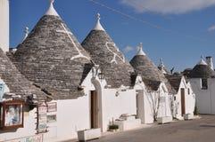 Trulli in Alberobello, Puglia Stock Image