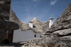 Trulli Alberobello Puglia - Italia Fotos de archivo