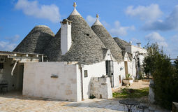 Trulli in Alberobello, Puglia, Italy Royalty Free Stock Photography