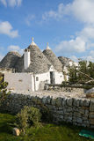 Trulli in Alberobello, Puglia, Italy Stock Photos