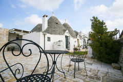 Trulli in Alberobello, Puglia, Italy Stock Photography