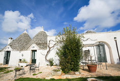 Trulli in Alberobello, Puglia, Italy Royalty Free Stock Image