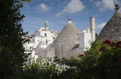 Trulli Alberobello Puglia - l'Italie Image stock