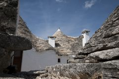 Trulli Alberobello Puglia - l'Italie Photos stock
