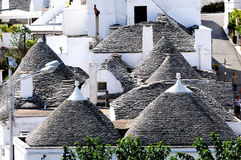 Trulli in Alberobello Royalty Free Stock Photos
