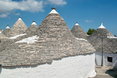 Trulli of Alberobello Stock Image