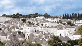 Trulli Alberobello, UNESCO światowego dziedzictwa miejsce zdjęcia royalty free