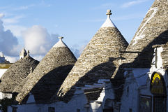 Trulli de Alberobello Fotos de Stock Royalty Free
