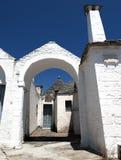 Trulli di Alberobello Fotografía de archivo libre de regalías