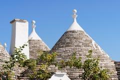 Trulli-Häuser in Alberobello, Italien Lizenzfreie Stockfotografie