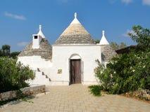 Trulli-Haus Puglia Italien Lizenzfreies Stockbild