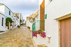 The Trulli houses of Alberobello in Apulia in Italy Stock Images