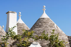 Trulli houses in Alberobello, Italy Royalty Free Stock Photography