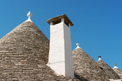 Trulli houses in Alberobello, Italy Stock Photography