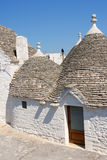 Trulli houses in Alberobello, Italy Royalty Free Stock Images