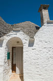 Trulli houses. Alberobello. Puglia. Italy. stock photography