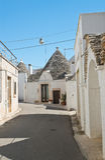 Trulli houses. Alberobello. Puglia. Italy. stock images