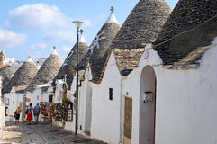 Trulli  houses in Alberobello Stock Image