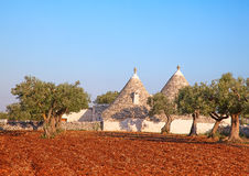 Trulli houses Stock Image