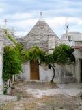 Trulli hus Alberobello Arkivfoto