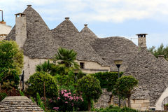 Trulli inspired home Stock Images