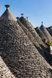 Trulli perspective Stock Photography
