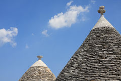 Trulli in Puglia Stock Photography