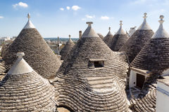 Trulli roof in Alberabello Royalty Free Stock Photos