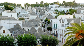 Trulli roofs Stock Photography