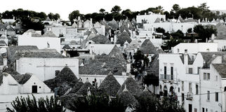 Trulli roofs Stock Image