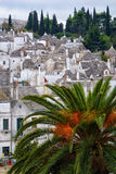 Trulli Rooftops in Alberobello Royalty Free Stock Images