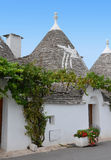Trulli in the southern Italian town of Alberobello Royalty Free Stock Image