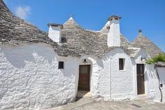 Trulli stone houses of Alberobello. Puglia, southern Italy Stock Image