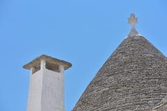 Trulli stone houses of Alberobello. Puglia, southern Italy Royalty Free Stock Photo