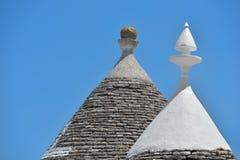 Trulli stone houses of Alberobello. Puglia, southern Italy Royalty Free Stock Photography