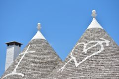 Trulli stone houses of Alberobello. Puglia, southern Italy Royalty Free Stock Image