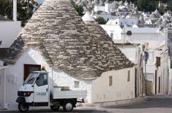 Trulli town of Alberobello, Italy Royalty Free Stock Photos