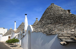 Trulli in Via Verdi, Alberobello, Italy Stock Photos