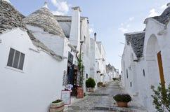Trulli Village - Alberobello, Italy Stock Photography