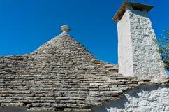 Trulli w Puglia, Włochy Obraz Royalty Free