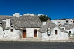 Trullis en Puglia, Italia Fotos de archivo libres de regalías