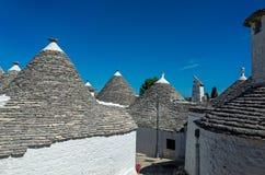 Trullis en Puglia, Italia Fotografía de archivo