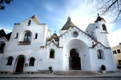 Trullo教会 免版税库存图片