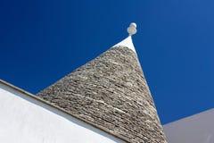 trullo της Ιταλίας γεωμετρίας Στοκ Φωτογραφίες