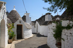 Trullo in Alberobello Stock Foto