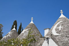Trullo. Alberobello. Apulia. Stock Photos