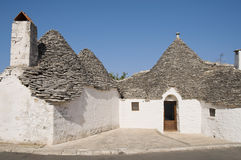Trullo. Alberobello. Apulia. Royalty Free Stock Photo