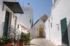 Trullo. Alberobello. Apulia. Royalty Free Stock Images