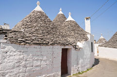 Trullo. Alberobello. Apulia. Royalty Free Stock Photography